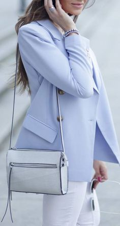Lilac blazer. An icy blazer is rare. True or Bright Winter. This isn't exact, but it's very close to my Energy and would be a good shape for a blazer for me.