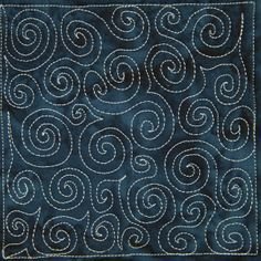 The Free Motion Quilting Project: Day 5 - Basic Spiral