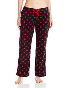 Bottoms Out Womens Printed Microfleece Pajama Pant *** Learn more by visiting the image link.