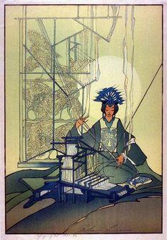 The Spinning Goddess ; 1936 ; Bertha Lum