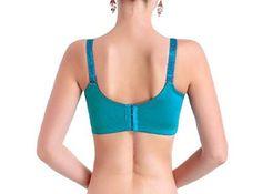 BLTR Women Breastfeeding Comfort Front Closure Soft Cup Bra Sleep Bra