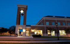 """The Hurlburt Student Center (often called """"The Bonnie"""") offers Radford University students a food court, student lounge, TV lounge, computer lounge and game room. There is also a 250-seat auditorium where weekly movies are shown as well as various events. Learn more about RU: www.radford.edu."""