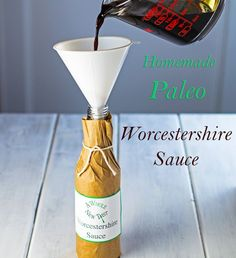 This Homemade Paleo Worcestershire Sauce is a so easy to make and it keeps well in the refrigerator. Includes D.I.Y. instructions on how to make your own bottle! #Paleo #Primal #GrainFree #GlutenFree #Soyfree, #DIY #WorcestershireSauce