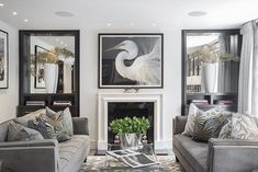 With schemes created by designer – and former Bond girl – Alison Papworth, of Camhall Design & Consultancy, and a location in London's Knightsbridge, this house is the ultimate choice for lovers of luxe living. And while we may not be able to afford the postcode, there are still plenty of design tips to be taken from this plush pad that can give your own interior some serious glamour. Read the piece & see more inspiring images here at www.achicaliving.com