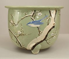 Asian Chinese accessories jardiniere/cachepot porcelain