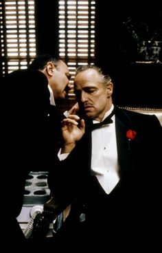 "Marlon Brando in ""The Godfather""   Best Actor Oscar 1972 (Oscar declined)"
