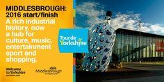 Tour de Yorkshire 2016 Start or Finish - Middlesbrough