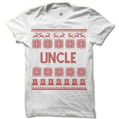 Uncle Ugly Christmas T-Shirt.