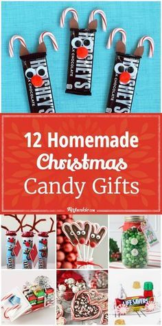 Cute, edible, homemade Christmas gifts made from candy. Children will love to make these easy, holiday inspired, DIY crafts and will love to give them too. # Easy Crafts for gifts 12 Homemade Christmas Candy Gifts [Easy] Christmas Candy Crafts, Christmas Crafts For Gifts, Christmas Fun, Homemade Christmas Candy, Easy Christmas Presents, School Friend Christmas Gifts, Christmas Gifts For Children, Diy Homemade Christmas Gifts, Christmas Turkey