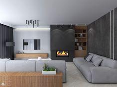 Living Room Decor Fireplace, Home Fireplace, Fireplace Design, New Living Room, Living Room Interior, Home And Living, Painel Tv Sala Grande, Living Room Tv Unit Designs, Living Room Inspiration