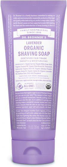 Organic Shaving Soaps | Dr. Bronner's