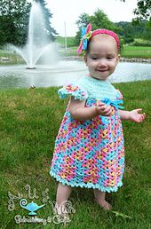 Ravelry: Vintage Dress & Diaper Cover pattern by Tanya Naser