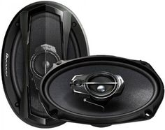 Pioneer 650Watt TS- A956H -5 Way 6 x 9 (pair) Oval Coaxial Car Speaker  (650 W)