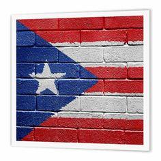 Puerto Rico Island, Puerto Rican Flag, Latino Men, Military Discounts, Puerto Ricans, National Flag, Brick Wall, Natural Wonders, Heat Transfer
