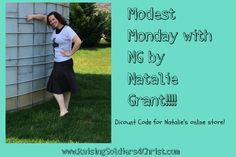 Modest Monday with Natalie Grant! - Raising Soldiers 4 Christ
