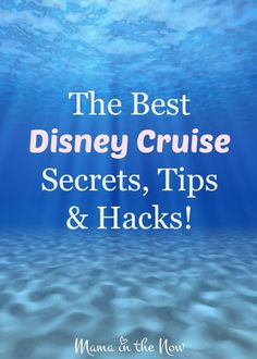 The Best Disney Cruise Secrets, Tips and Hacks. A mother of four boys, veteran-Disney-cruise traveler and travel agent is sharing everything she has learned from years of traveling. These tips are perfect for families traveling with young kids! Packing List For Cruise, Cruise Tips, Cruise Travel, Cruise Vacation, Disney Vacations, Disney Travel, Family Vacations, Vacation Spots, Packing Tips
