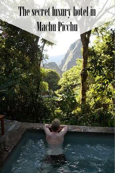 Unbelievable: Did you know that there is a luxury hotel right inside Machu Picchu? I stayed 3 nights at the Belmond Sanctuary lodge and enjoyed the beautiful view on the ancient Inca ruins from their hot tub. Looking for Hotels in Aquas Calientes? Find out about this hotel in Machu Picchu itself!