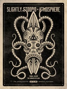 Slightly Stoopid and Atmosphere Poster by DKNG