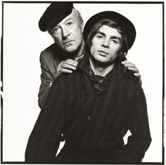 Cecil Beaton & Rudolph Nureyev photographed by David Bailey, 1965.