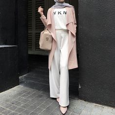 54 ideas for fashion hijab style outfits beautiful Street Hijab Fashion, Muslim Fashion, Modest Fashion, Fashion Outfits, Fashion Fashion, Hijab Style, Casual Hijab Outfit, Hijab Chic, Latest Fashion For Women