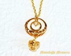 Sailor Moon Necklace - Inspired by Neo Queen Serenity from Sailor Moon - Gold Heart Crown Sailor Moon Necklace Jewelry Christmas Gift by MoonlightMemoria on Etsy https://www.etsy.com/listing/195442226/sailor-moon-necklace-inspired-by-neo