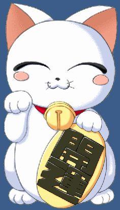 Resultado de imagen para gatos japoneses anime