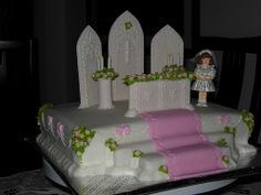 1000 images about first holy communion cake on pinterest for Altar decoration for first holy communion