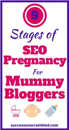 Are you a Mummy Blogger looking to rank higher in the search engines but have no idea where to start? Ever wanted an SEO resource to help you to get it? Check out these SEO tips in the SEO glossary as well as the 9 Stages of SEO Pregnancy. Make Money Blogging, Blogging Ideas, Online Blog, Seo Tips, Blogging For Beginners, How To Start A Blog, Pinterest Popular, Pinterest Blog, Pregnancy