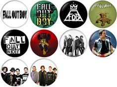 Amazon.com: Fall Out Boy Pinback Buttons Badges/Pin 1 Inch (25mm) Set of 10 New: Clothing