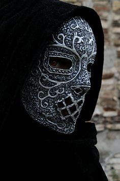 MADE TO ORDER  Death Eaters mask harry by ChimericalDragonfly