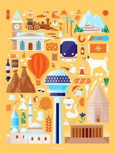 Turkey on Behance