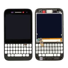 [$6.61] iPartsBuy for BlackBerry Q5  LCD Screen + Touch Screen Digitizer Assembly with Frame(Black)
