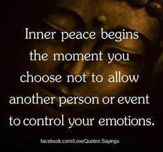 Choose Inner Peace - A Message From The Creator