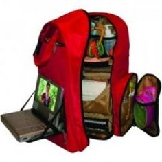 This is coolest bag ever for traveling with a baby. I don't think you can find a bag better then the Okkatots Travel Baby Depot Backpack Bag to carry all baby might need for a day trip or longer.