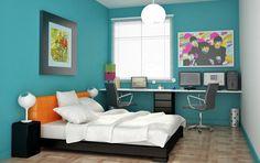 Como projetar a decoração do seu quarto