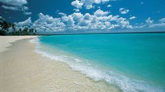 Playa larga de Punta Cana, en Santo Domingo