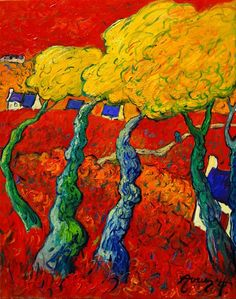 """Paul Sérusier was a French painter who was a pioneer of abstract art and an inspiration for the avant-garde Nabi movement, Synthetism and Cloisonnism. Paul Gauguin, Maurice Denis, Raoul Dufy, Edouard Vuillard, Pierre Bonnard, Pierre Auguste Renoir, Henri Matisse, Maurice De Vlaminck, Art Moderne"