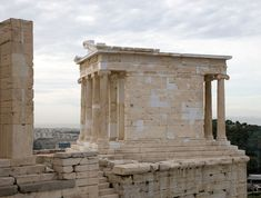 Temple of Athena Nike BC) on the south-est corner of Acropolis – 2020 World Travel Populler Travel Country Ancient Greek Theatre, Athens Acropolis, Mycenaean, Ancient Buildings, Fortification, Famous Places, Ancient Greece, Architecture, Archaeology
