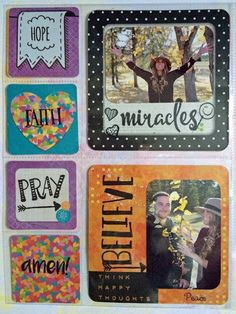 Be the Light Misc.Me pages by Lynn Shokoples for BoBunny featuring the Believe Collection. #Bobunny @scrappyhappymom