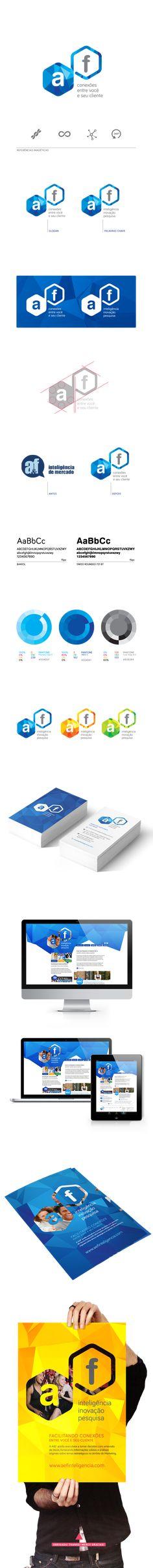 A&F Inteligência - Branding & Web on Behance