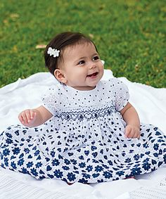 094daf164 Sarah Louise Heart Dress, hand embroidered and hand smocked. We also have  the older