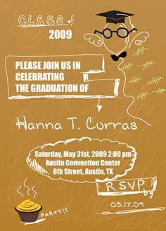 Graduation Invitation Wording No Gifts