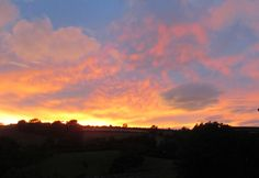 August sunset in Shropshire Anthony J Sargeant photographed this remarkable sunset from the bedroom window of his Shropshire home at hr on the August 2016 Landscape Photographers, Photographs, Window, Sky, Sunset, Bedroom, Videos, Outdoor, Beautiful