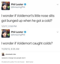 Hold up, this post belongs on so many boards! Dan and Phil, Harry Potter, AND Fall Out Boy!