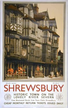 Shrewsbury Ireland's Mansion was built in 1575 for a wool merchant named John Ireland. Claude Buckle captures the magic of this historic building in Shrewsbury, England