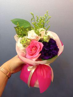 D I Y mini bouquet