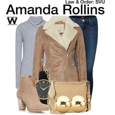 Inspired by Kelli Giddish as Amanda Rollins on Law & Order: Special Victims Unit.