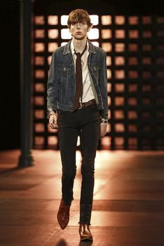 PARIS FASHION WEEK _ YVES ST LAURENT SS15