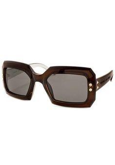a4007d4b98d Marc Jacobs Shield Sunglasses 147 S 0LIN LV 54   Brown