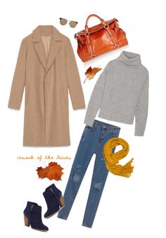 """""""Camel for Fall!"""" by youaresofashion ❤ liked on Polyvore featuring Miu Miu, Maje, Sole Society, A